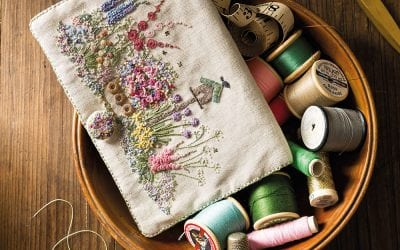 Embroidered Country Gardens – Needlecase – Full Kit (Copy)