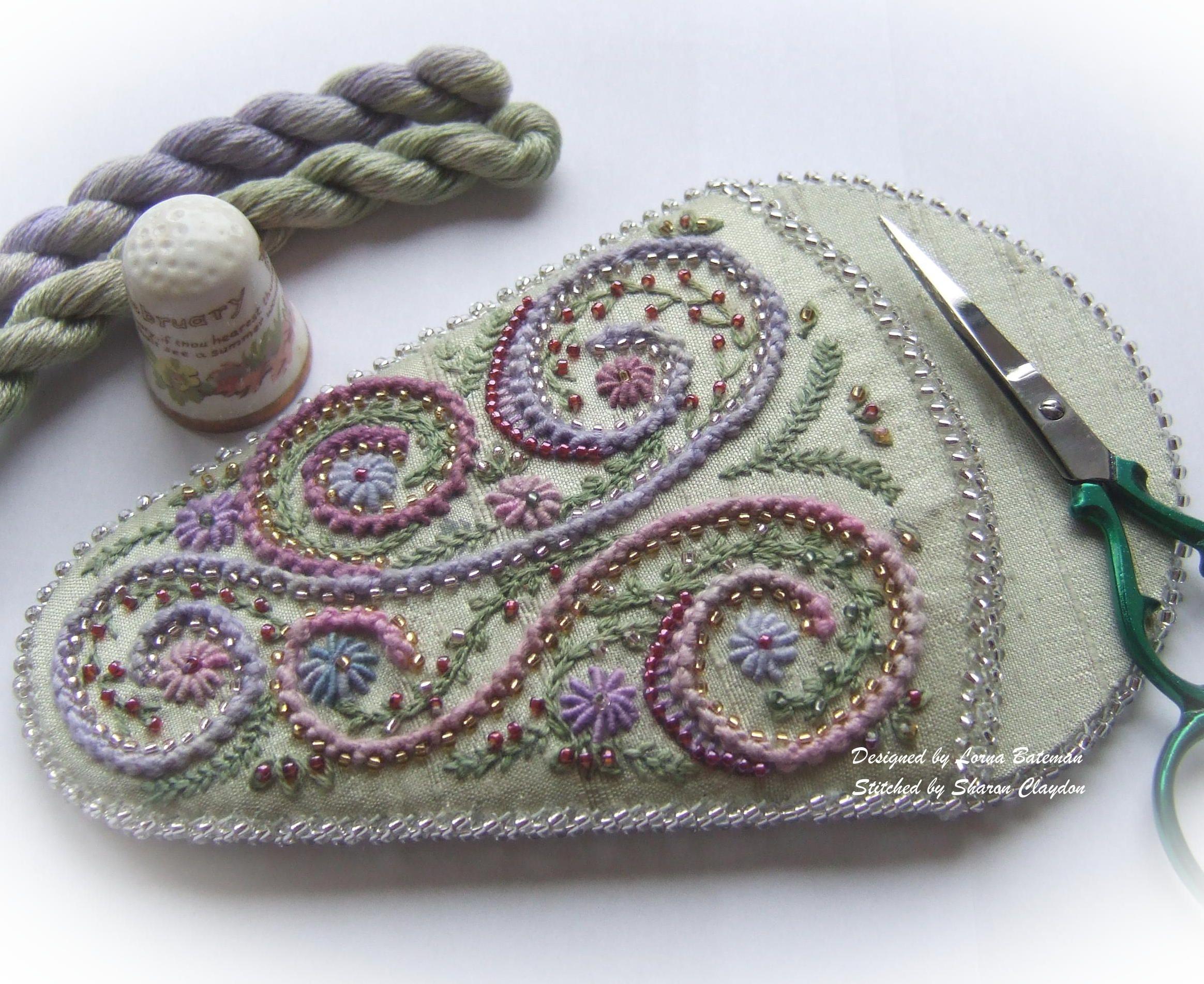 Swirls and Whirls Scissorkeeper Full Kit