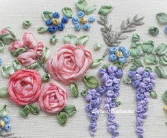 Miniature garland section 2