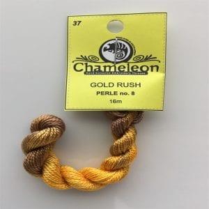 Chameleon Threads Perlè No. 12 - Gold Green 37