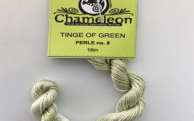 Tinge of Green  87 – Perle No. 8