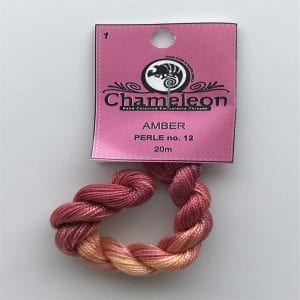 Chameleon Threads Perle 12 no.1 Amber