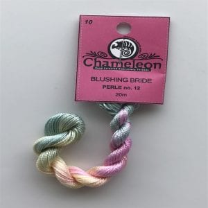 Chameleon Threads Perlè No. 12 - Blushing Bride 10