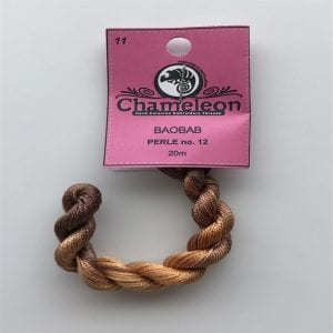 Chameleon Threads Perlè No. 12 - Baobab 11