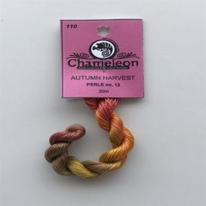 Chameleon Threads Perle 12 - No 110 Autumn Harvest