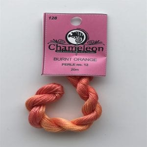 Chameleon Threads Perlè No. 12 - Burnt Orange 128