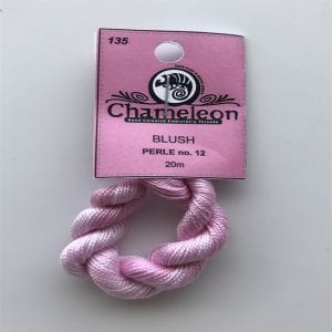 Chameleon Threads Perlè No. 12 - Blush 135