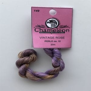 Chameleon Threads Perlè No. 12 - Vintage Rose 149