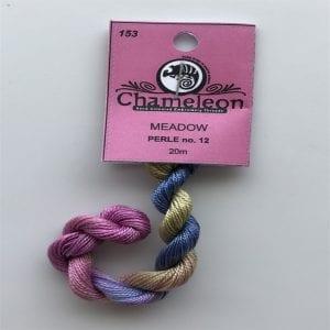 Chameleon Threads Perlè No. 12 - Meadow 153