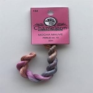 Chameleon Threads Perlè No. 12 - Mocha Mauve 154