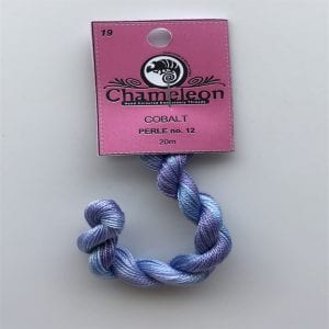 Chameleon Threads Perle 12 - No. 19 Cobalt Blue