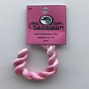 Chameleon Threads Perlè No. 12 - Watermelon 91