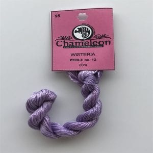 Chameleon Threads Perlè No. 12 - Wisteria 95