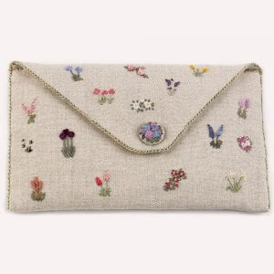 Embroidered-Country-Gardens-Pencil-case-close-up