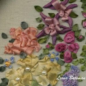 LS Garland Rose section
