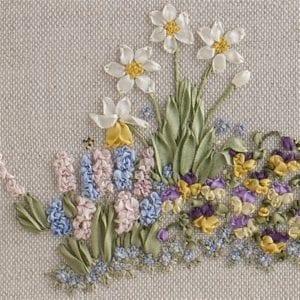 Springtime framed cropped left