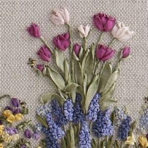 Springtime framed cropped mid