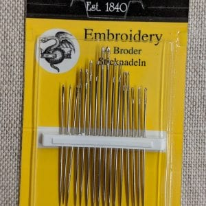 Embroidery needles 3-9