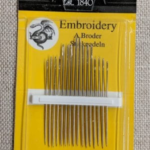 Embroidery needles 5-10