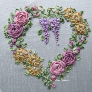 Silk-ribbon-Roses-and-wisteria-heart-name