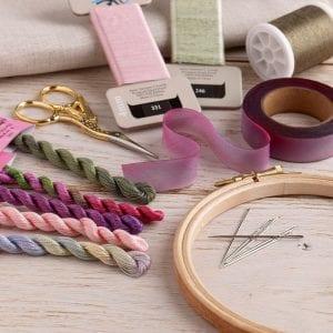 Threads, ribbons & haberdashery