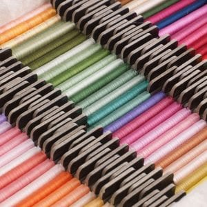 River Silks silk ribbons from Lorna Bateman Embroidery