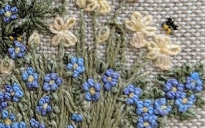Embroidered Country Garden – Spring is in the Air taster pack