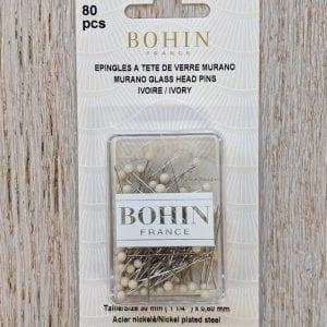 Bohin-Murano-glass-pins-Ivory-web