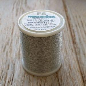 Madeira metallic thread in silver dust colour