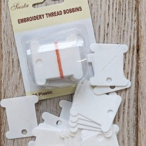 Plastic Bobbins for embroidery threads