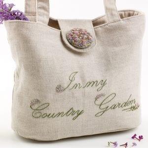 Vintage gardener bag back
